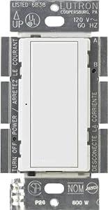 Lutron Ma S8am Wh 8 Amp Maestro Digital Light Switch