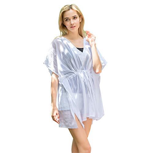 76006f7f41 YWSQTEX Women's Outwear Dress Swimsuit Crochet Beach Bathing Suit Cover Up  Bikini Suit