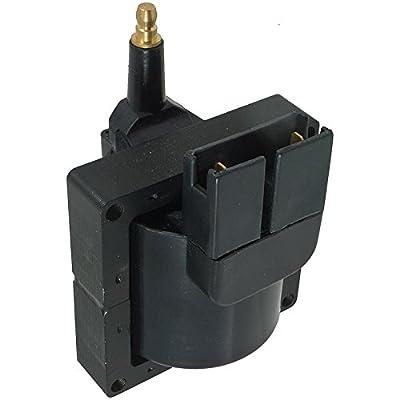 New Ignition Coil For 1982-98 Ford, Lincoln, Mazda, Mercury, Merkur/626, Aerostar, Replaces Ford F5ZZ-12029-A F7PJ-12029-AA F7PZ-12029-A F7PZ-12029-AA: Automotive