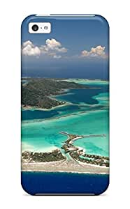 For Iphone Case, High Quality Bora Bora For Iphone 5c Cover Cases