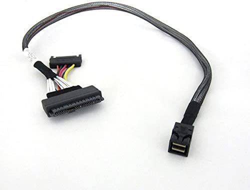 RHS36-2582 SFF-8643 to U.2 SFF-8639 with 15 Pin SATA Power Connector/