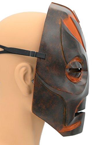 Skyrim Mask Elder Dragon Scrolls Brown Resin Mask Game Cosplay Props XCOSER
