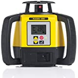 Leica R680,REBasic, Alkaline Rugby 680 2600-Feet Self Leveling Horizontal, Dual Axis Dial in Grade, Rotary Laser Kit with Rod Eye Basic Receiver, Yellow