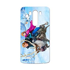 Frozen Princess Anna Kristoff Olaf Sven Cell Phone Case for LG G3