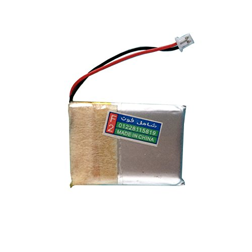 Game Boy Micro Battery - OSTENT 460mAh 3.8V Rechargeable Lithium-ion Battery Kit Pack Compatible for Nintendo GBM Game Boy Micro