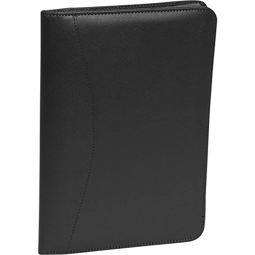 Royce Leather Kid's Junior Writing Padfolio, Black