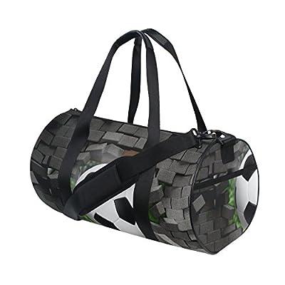 db3aa644bb19 hot sale Naanle Basketball Broken Brick Wall Pattern Gym bag Sports Travel  Duffle Bags for Men
