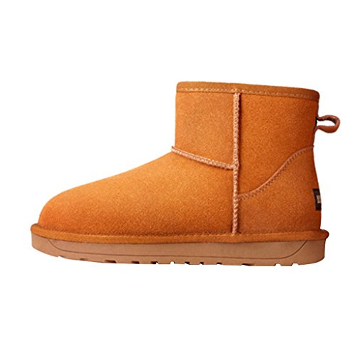 Chestnut Women's Snow Winter Warm Optimal Ankle Boots vwSYtq