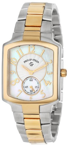 (Philip Stein Women's 21TG-FW-SSTG Classic Two-Tone Gold Plated Two-Tone Gold Bracelet Watch)