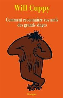 Comment reconnaître vos amis des grands singes