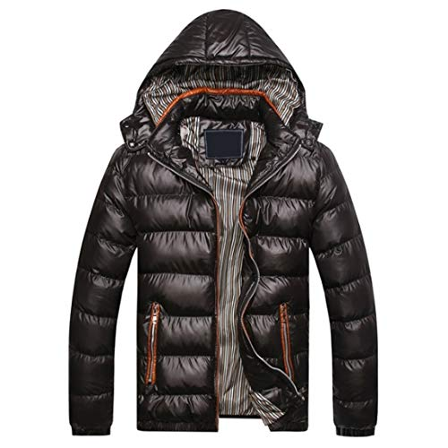 Outwear Cotton Detachable Black Windproof Fashion Thickening Aiweijia Ultra Winter Jacket Light Cotton Coat Hooded Clothing Warm Men's Man ZqEHRx1
