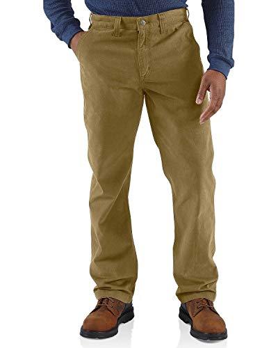 Carhartt Men's Rugged Relaxed Fit Work Khaki Pant, Dark, 36W X 30L