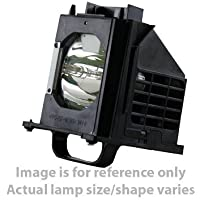 TV lamp for Mitsubishi WD-73737 180 Watt RPTV Replacement by Lapbix
