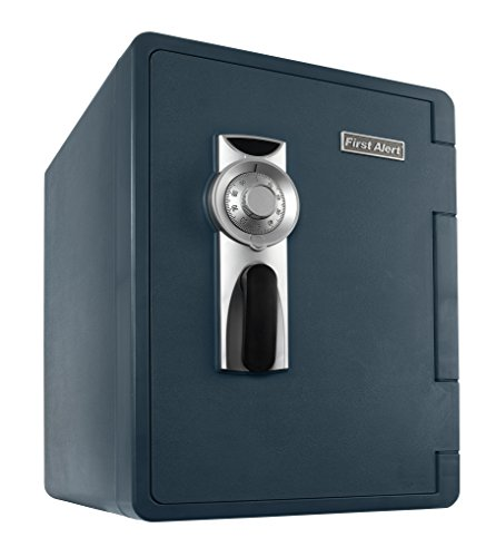 First Alert 2096F-BDSC Ready-Seal Waterproof Fire Safe with Combination Lock and Handy Hauler