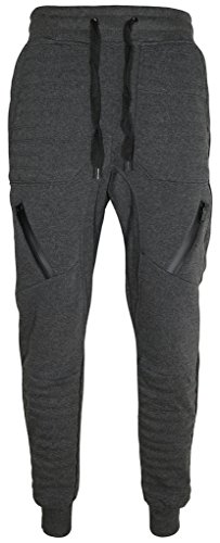 UPSCALE Mens Motorcycle Jogger Pants Charcoal XL