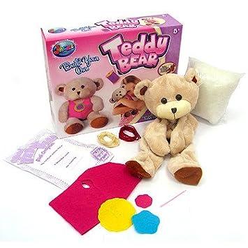 ab87fd88970 Jacks Build Your Own Teddy Bear  Amazon.co.uk  Toys   Games