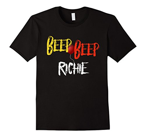 Mens Beep Beep Richie Red balloon scary movie quote T Small (Quotes From The Movie Halloween)