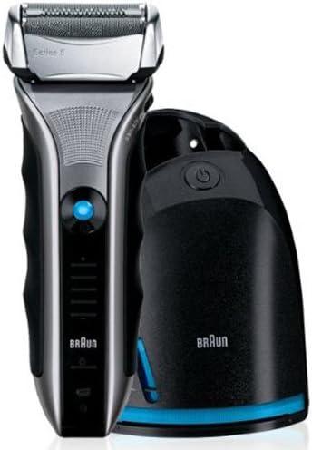 Braun Serie 5 590c-4® - Afeitadora eléctrica con centro de limpieza: Amazon.es: Salud y cuidado personal