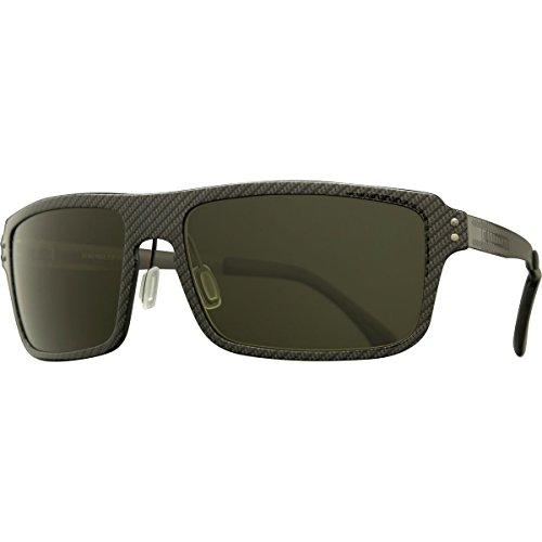 Serengeti Cosmopolitan Duccio Sunglasses, Polar PhD Drivers, Satin Black