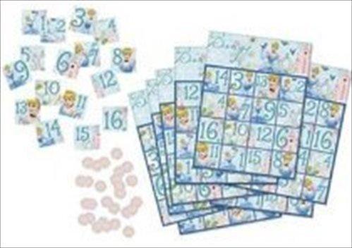 Cinderella 'Dreamland' Bingo Party Game (1ct) by Party Express by Cinderella