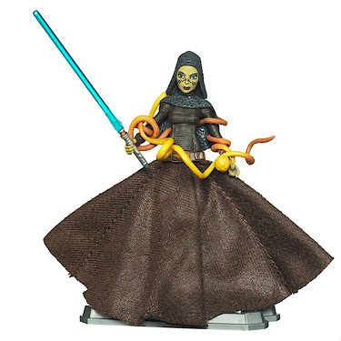 Star Wars 2011 Clone Wars Animated Action Figure CW No. 50 Bariss Offee (Star Wars The Clone Wars Brain Worms)