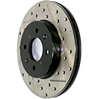 Stop Tech 127.33096L Sportstop Slotted and Drilled Brake Rotor