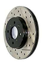 Stop Tech 127.34078R Sportstop Slotted and Drilled Brake Rotor