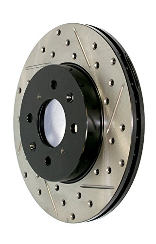 StopTech Centric (127.35054R) Slotted and Drilled Brake R...
