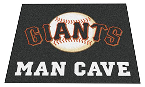 Giants Tailgater Rug (Fanmats 22465 Mlb-San Francisco Giants Man Cave Tailgater Rug)