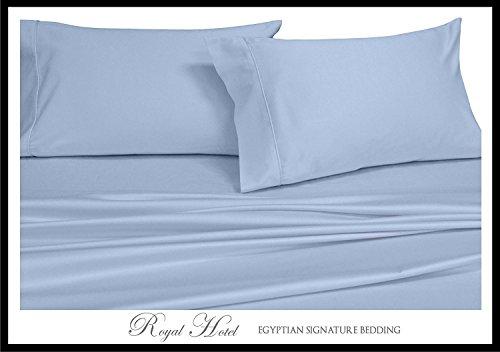 Water blue flat Sheet set 100% Cotton bedding bedsheet - 6