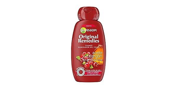 Amazon.com: ORIGINAL REMEDIES champú Argán y arándanos 250 ml: Beauty