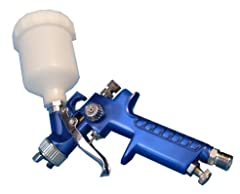 Our gun is THE BEST Hvlp gravity feed compressor air paint spray gun for sale, and can be cleaned in acetone with NO problems! This Is Perfect For:✔ Professional Automotive Spray Gun!✔ Wood Stain!✔ Exterior House Painting!✔ Cabinets!✔ Autobod...
