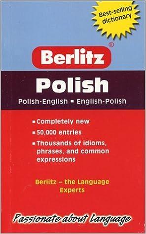 Book Berlitz Pocket Dictionary Polish-English (Berlitz Dictionaries) (2004-04-01)