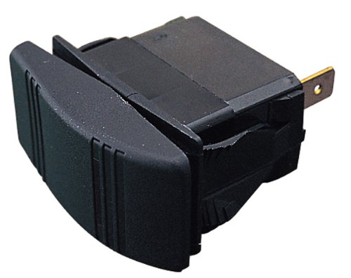 Sea Dog 420218-1 Illuminating Contura Rocker Switch, On/Off/On / DPDT