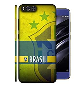 ColorKing Football Brazil 21 Multicolor shell case cover for Xiaomi Mi A1