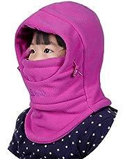 MAGARROW Kids Balaclava Ski Warm Hood Cold Weather Outdoor Sports Cap Gaiter for Boys Girls