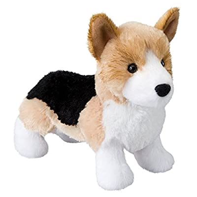 Douglas Shorty Tri-Color Corgi Plush Stuffed Animal: Toys & Games