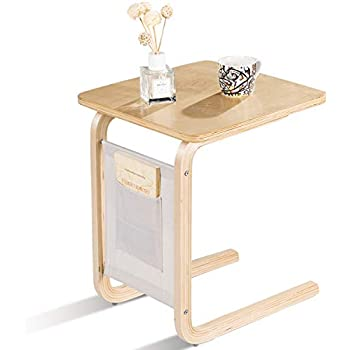 Amazon Com Tangkula Sofa Side Table Snack End Couch