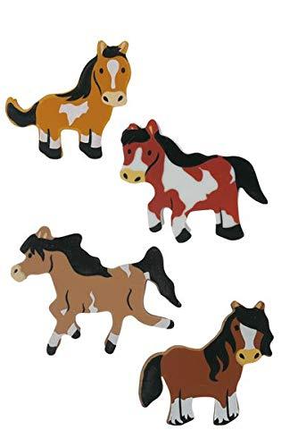 Party Gro/ßhandel Radiergummi-Set 8 Radiergummis Pferde