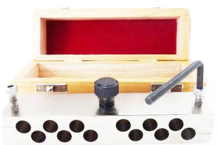 BEST QUALITY HEAVY DUTY 12 Hole 2gms Suppository Mold in WOODEN BOX
