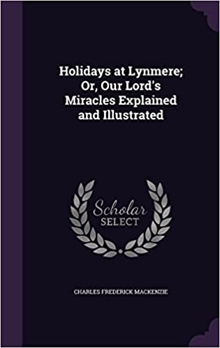 Book Holidays at Lynmere: Or, Our Lord's Miracles Explained and Illustrated