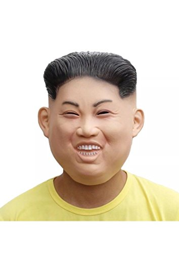 Costume Mask KIM JONG UN Trick or Treat Funny KIM JONG UN Halloween Costume Mask Latex Hunam Face (Trick Or Treat Costumes For Couples)