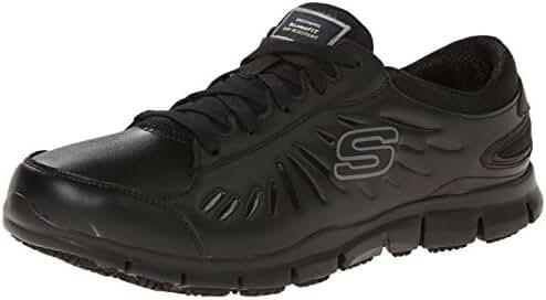 Skechers for Work Women's Eldred Slip Resistant Shoe