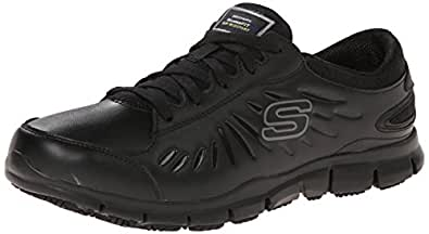 amazoncom skechers  work womens eldred shoe shoes