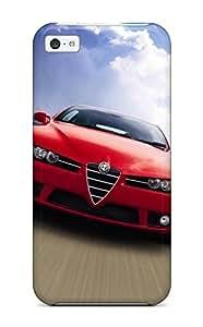Flexible Tpu Back Case Cover For Iphone 5c - Alfa Romeo Brera 11