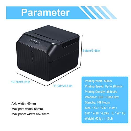 Docooler Barcode Printer High BT Quality Printer Qr Code Sticker Barcode Thermal Adhesive Clothing Label Printer by Docooler (Image #8)
