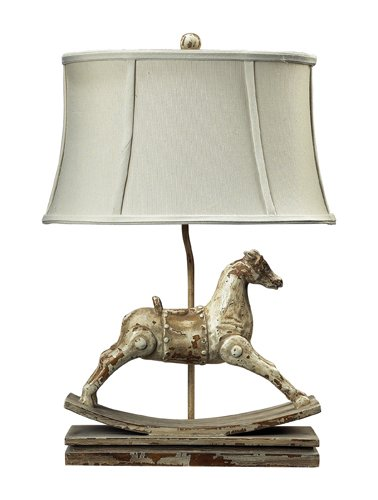 Dimond Lighting 93-9161 Carnavale Rocking Horse Table Lamp, 10