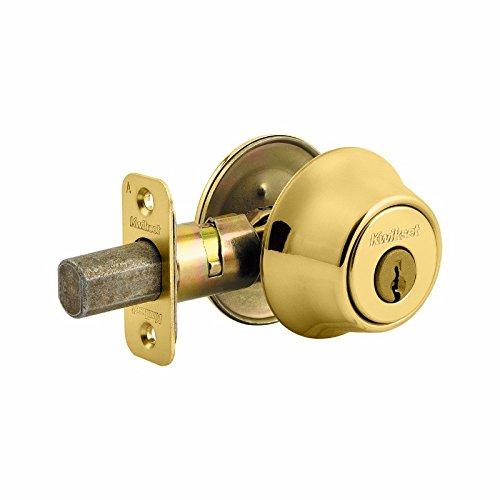 Kwikset Corporation 660-AL-US3-KD-MK66756 Single Cylinder Deadbolt Brass from Kwikset