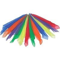 Bandas de ritmo Bufandas de ritmo grandes multicolor (paquete de 12)