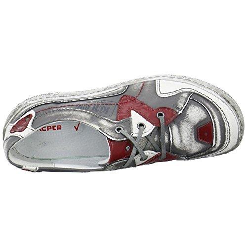 Gris Kacper 2 de cordones 4918560656729 de Zapatos mujer para Piel zfqzxU4rw